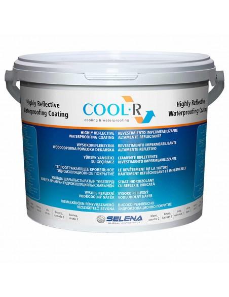 Revêtement imperméabilisant hautement réfléchissant pour toitures - Cool R - QUILOSA