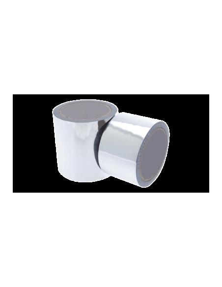 Ruban adhésif isolation en Polypropylène métallisé – rouleau 50 ml